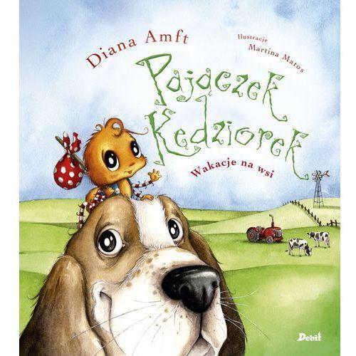 Książki dla dzieci, Pajączek Kędziorek. Wakacje na wsi (opr. twarda)