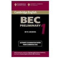 Książki do nauki języka, BEC Practice Tests (opr. miękka)