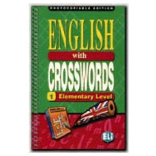 Książki do nauki języka, English With Crosswords 1 Elementary Level Photocopiable Edition (opr. miękka)