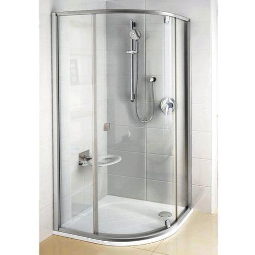 Kabiny prysznicowe, RAVAK PIVOT PSKK3-80 Kabina półokrągła, profile białe, szkło transparentne 37644101Z1