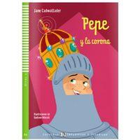 Książki do nauki języka, Pepe y la corona A2 + CD (opr. miękka)