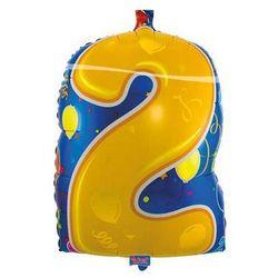 Balon foliowy Cyfra 2 - 56 cm