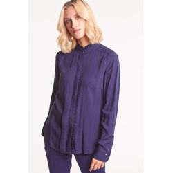 Granatowa bluzka koszulowa - Duet Woman
