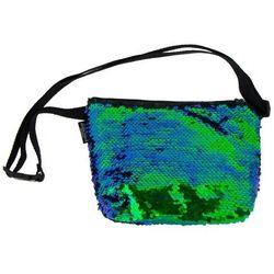 Torebka na ramię Sequins Green - STARPAK