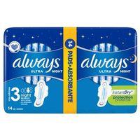 Podpaski, Always Ultra Night Podpaski higieniczne 14 sztuk