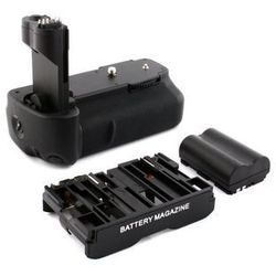Battery pack grip NEWELL BG-E2 / C40N do Canon 50D / 40D / 30D / 20D + akumulator BP-511