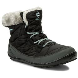 Śniegowce COLUMBIA - Youth Minx Shorty Omni-Heat Waterproof BY1334 Black/Sparay 010