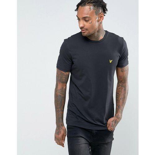 T-shirty męskie, Lyle & Scott T-Shirt with Eagle Logo in Black - Black