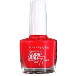 Maybelline Super Stay 7 Days lakier do paznokci 10 ml dla kobiet 25 Crystal Clear