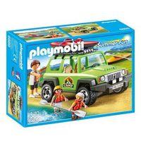 Klocki dla dzieci, Playmobil FAMILY FUN Samochód terenowy z kajakiem 6889