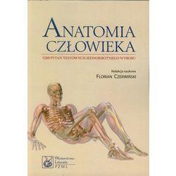 Anatomia człowieka 1200 pytań testowych jednokrotnego wyboru. (opr. miękka)