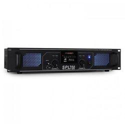Skytec SPL-700 Wzmacniacz Hi-Fi PA 2 x 350W USB-SD-MP3