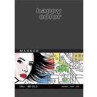 Bloki, Blok do markerów, Art., 100g, A3, 25ark, Happy Color