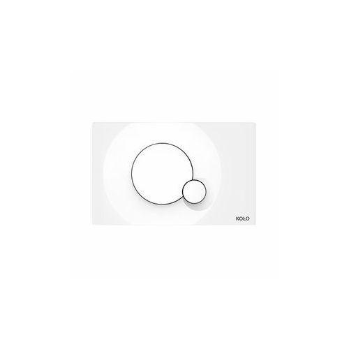 Koło City przycisk spłukujący, biały 94162-001