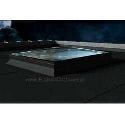 Okno do płaskiego dachu OKPOL PGX B6 Spherline 100x100