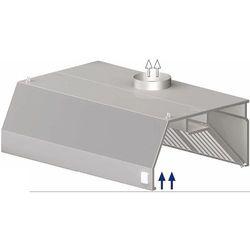 Okap przyścienny trapezowy 3600x1000x450 mm   STALGAST, 9820710360