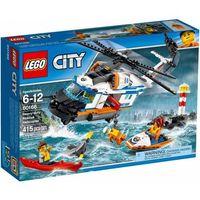 Helikoptery dla dzieci, Lego CITY 60166 Helikopter ratunkowy do zadań specjalnych ( Heavy Duty Rescue Helicopter )
