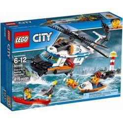 Lego CITY 60166 Helikopter ratunkowy do zadań specjalnych ( Heavy Duty Rescue Helicopter )