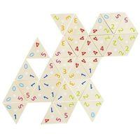 Gry dla dzieci, Drewniane Domino trójkąty matematyczne