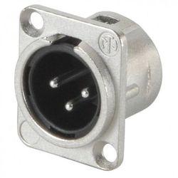 Wtyk montażowy XLR NC-3MDL1 / NC-3MDL1BAG