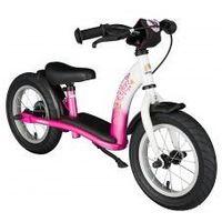 """Rowerki biegowe, Rowerek biegowy 12"""" XL BIKESTAR GERMANY classic, kolor pink flamingo"""