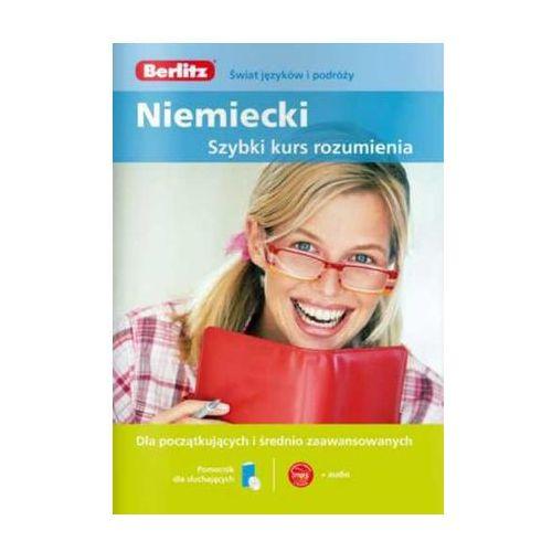 Książki do nauki języka, Berlitz Szybki kurs mówienia Język niemiecki (Płyta CD)