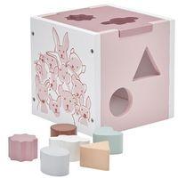 Zabawki z drewna, Sorter Drewniany Edvin Kids Concept - Różowy KC1000133