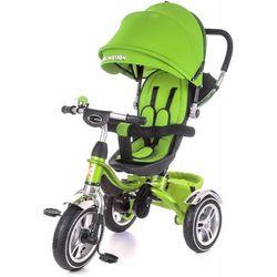 Rowerek Trójkołowy Tobi Pompowane Koła KIDZMOTION Zielony - Zielony