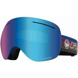gogle snowboardowe DRAGON - Dr X1 Bonus Gamer Llblueion+Llamber (404) rozmiar: OS