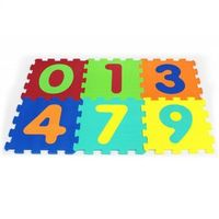 Puzzle, Artyk 6 EL. Puzzle piankowe cyferki