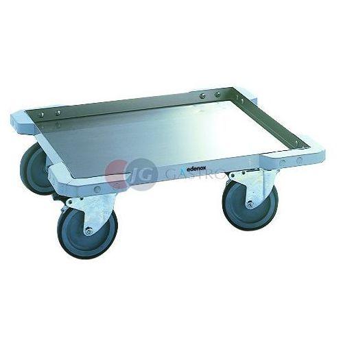 Wózki widłowe i paletowe, Wózek platformowy 587x587x200 do transportu koszy BC-55