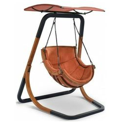 Ogrodowy fotel wiszący terracotta - Pasos 3X