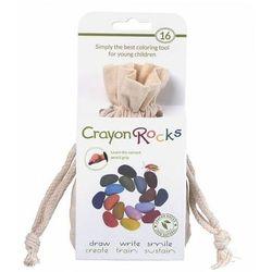 Kredki Crayon Rocks w bawełnianym woreczku - 16 kolorów CRNAT16