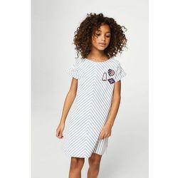 Mango Kids - Sukienka dziecięca Vegas 116-164 cm