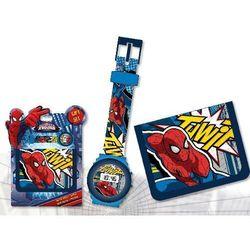 Zegarek na rękę i portfel Spiderman