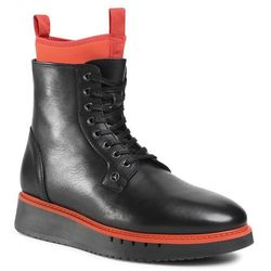Kozaki TOMMY HILFIGER - Mb Sport Boot 2A FM0FM03168 Black/Princeton Orange 0GP