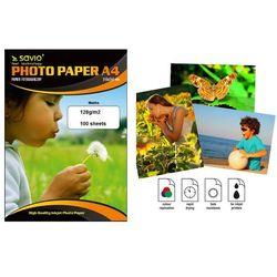 Papier fotograficzny SAVIO PA-11 A4 128g/m2 100 szt. mat