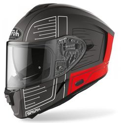 AIROH KASK INTEGRALNY SPARK CYRCUIT RED MATT