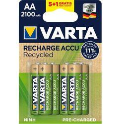 Varta akumulatory Recycled 5+1 AA 2100 mAh R2U 56816101476