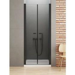 Drzwi prysznicowe 100 cm D-0216A New Soleo Black New Trendy