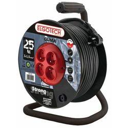 Elgotech Przedłużacz bębnowy 4GN 30m 3X2,5mm w GUMIE (PZB-40-30G/2,5) - Rabaty za ilości. Szybka wysyłka. Profesjonalna pomoc techniczna.