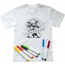 Koszulka SW Yoda z mazakami, 7-8 lat
