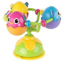 Tomy Lamaze Karuzela Pisklątka z przyssawką - zabawka na krzesełko LC27242