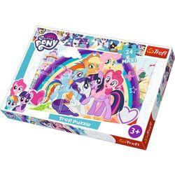 Trefl Puzzle 24 elementy Maxi My Little Pony, Szczęśliwe kucyki