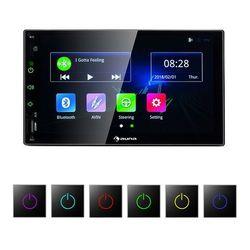MVD-400 radio samochodowe 7-calowy ekran dotykowy 4x45W BT Android Auto USB 2 DIN czarne