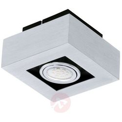 Plafon LAMPA sufitowa LOKE 1 91352 Eglo natynkowa OPRAWA metalowa IP20 kwadrat chrom