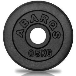 Obciążenie żeliwne AbarQs 0,5 kg. OB29