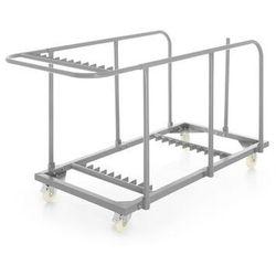 Wózek do transportu stołów cateringowych
