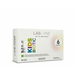 Lab One, N°1 KidsBiotic, 15 saszetek