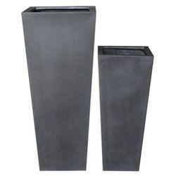 Donica ogrodowa KLOSTERS czarna 100cm